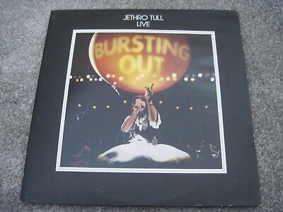 JETHRO TULL Live-Bursting Out & INNERS   1978  CHRYSALIS double LP  superb EX+