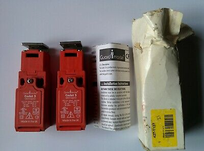 2x Guardmaster Cadet 3 Safety Switch RS 427-1127 NOS