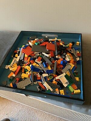 Mixed LEGO bundle 1kg Assortment Of Bricks, Parts And Pieces. Used.
