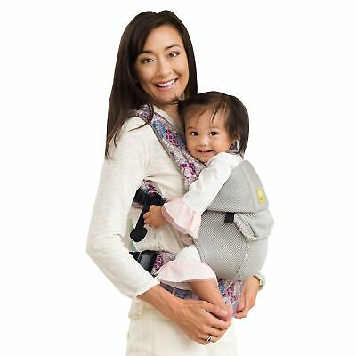 LilleBaby Complete 6in1 Airflow Breathable 3D Mesh Baby Carrier 7-45Lbs 3,2-20kg