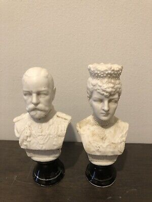 King George Queen Mary Figurines Wax Seal Stampers