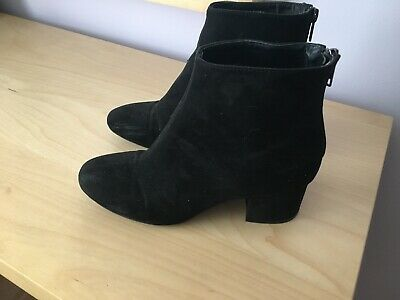 Ladies New Look Black Boots - Size 4 Worn Once - Excellent