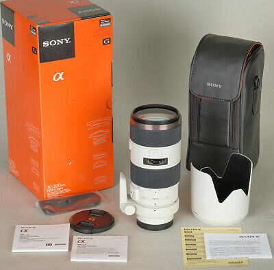NEW DEMO FULL WARRANTY Sony SAL70200G2 A-Mount  70-200mm f2.8 G SSM II