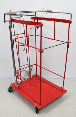 Kendall Covidien SharpsCart  Wire Cart for 8 Gallon Sliding Lid Containers