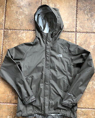 The North Face Women's HyVent 2.5L Hooded Waterproof Breathable Rain Jacket Sz S