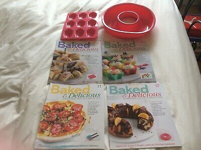 Baked and Delicious Magazine 9 10 11 12 Silicon Madeleine Moulds and Ring Mould