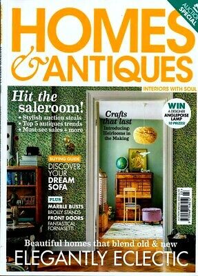 Homes & Antiques Magazine Auction Special 2020 ~ New ~
