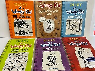 1 book  Diary of a Wimpy Kid Books  by Jeff Kinney (Paperback,2019)