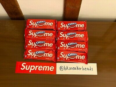 Supreme Oreo Cookies *IN HAND* *SOLD OUT IN 8 SECONDS*