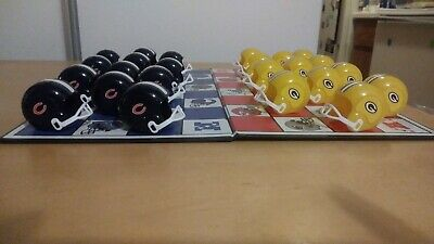 Green Bay Packers vs Chicago Bears NFL Helmet Checkers Board Game Vintage 1993