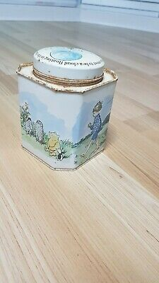 The Walt Disney Collectors original Winne The Poo Empty Tin 1973 with lid