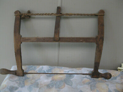 Vintage Carpenters Bow Saw
