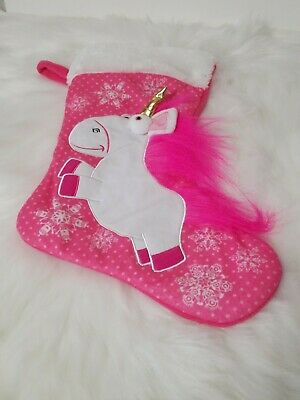 "Despicable Me 16"" Fluffy The Unicorn Soft Stocking"