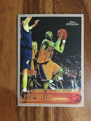 Kobe Bryant Topps Chrome #138 ROOKIE!! RC RP Los Angeles Lakers
