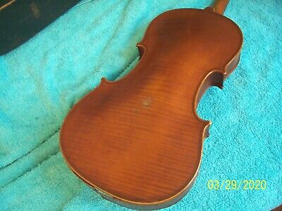 Early 1900's Nicolas Duchene Paris  Violin sold as is for its parts France