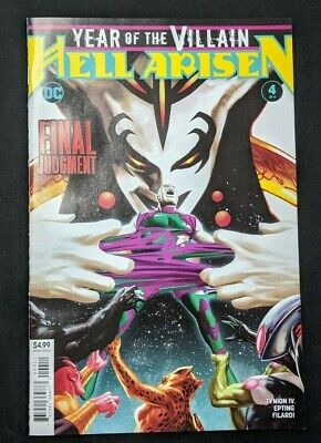 YEAR OF THE VILLAIN HELL ARISEN #4 (2020) Cover A FIRST PRINT DC Comics
