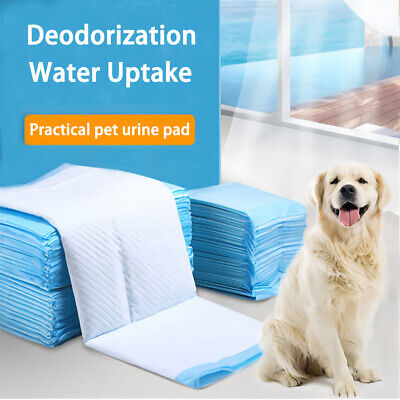 Large Disposable Underpads Cat Dog Pet Pee Training Potty Puppy Wee Wee Pad