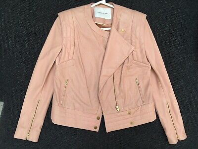camilla and marc Leather Jackets Size 8