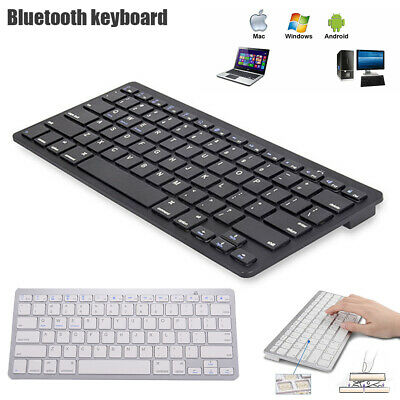 For Laptop/iPad/Android Cellphone/Mac Keyboard ABS Bluetooth Wireless Ultra Slim