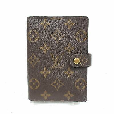 Louis Vuitton Diary Cover Agenda PM Browns Monogram 806439