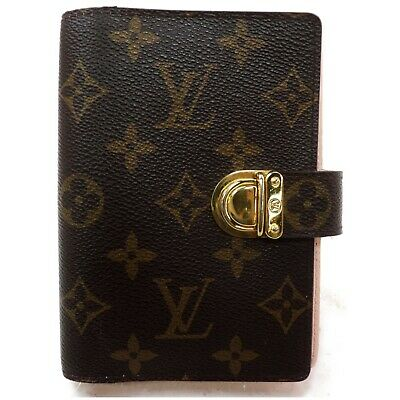 Louis Vuitton Diary Cover Agenda PMR21013 Browns Monogram 1127206