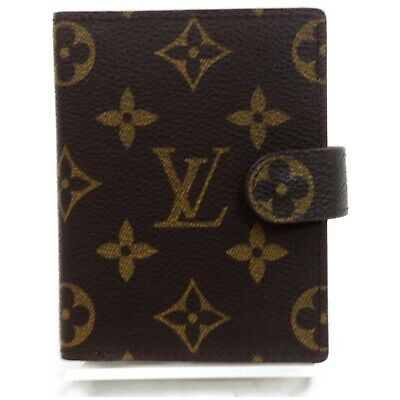 Louis Vuitton Diary Cover Agenda Mini R20007 Browns Monogram 829527