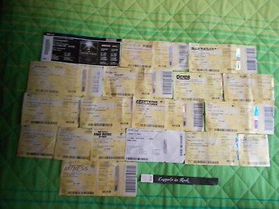 18 Biglietti,Tickets:the Smashing Pumpkins,Firenze Rocks,Iron Maiden,Metallica