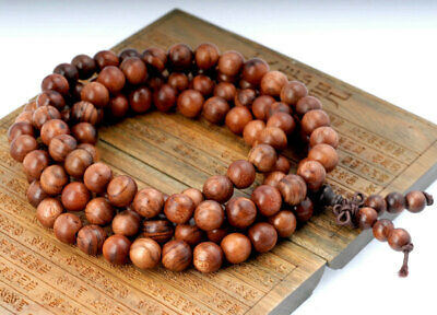 108PCS 6mm Natural Red Brown Rosewood Mala Meditation Beads Round 90182978-399