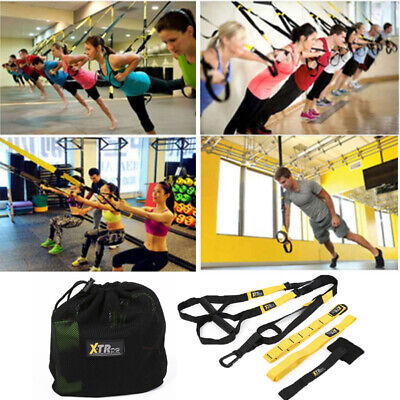 Heavy Duty Suspension trainer straps Home Gym Pro 3 TRX Fitness Resistance bands