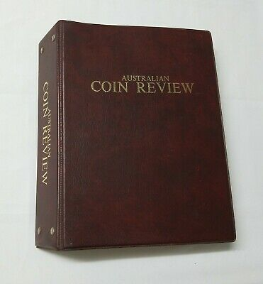 Australian Coin Review 1983/1984 - 12 magazines in binder
