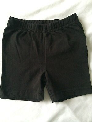 Black school pe shorts - age 3 years
