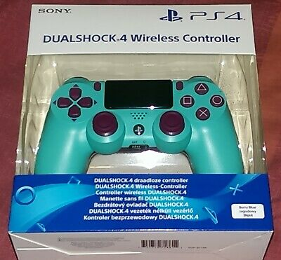 Genuine Official SONY DualShock 4 V2 Wireless Controller - Berry Blue NEW UK