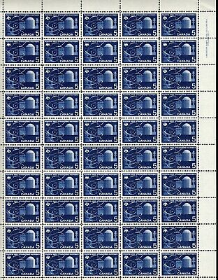 Canada - Mint Sheet Of 50 Stamps - Vfnh - Scott 449 - Pl. 1 - Ur - Reactor