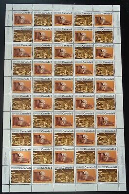 Canada - Mint Sheet Of 50 Stamps - Vfnh - Scott 570/571 - Pacific Coast Indians