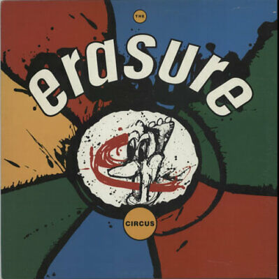 Erasure The Circus vinyl LP album record UK STUMM35 MUTE 1986