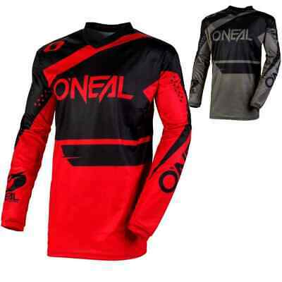 O/'neal ONEAL Element RW mens LARGE motocross jersey 0028-404 org//blk