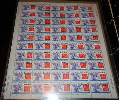 Canada - Mint Sheet Of 50 Stamps - Vfnh - Scott 649 - Universal Postal Union.