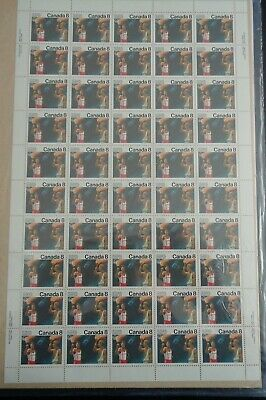 Canada - Mint Sheet Of 50 Stamps - Vfnh - Scott 681 - Olympic Ceremonies.