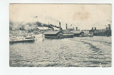 Vintage Canada, Ontario, Toronto,  Waterfront Real Photo Post Card