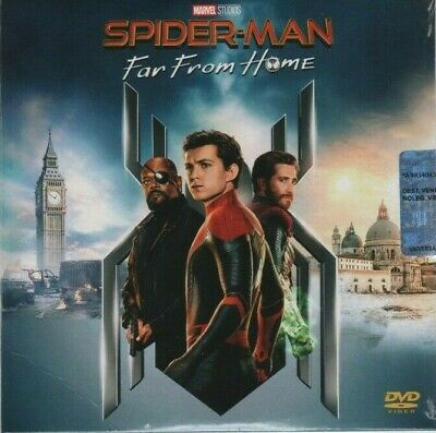 Spider-Man: Far From Home DVD 2019
