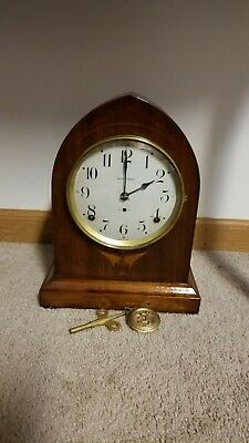 Fully Restored Antique Seth Thomas Outlook No. 6 Mahogany Mantle Clock 8-Day T&S