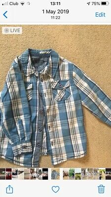 Florence And Fred Boys Shirt Age 2-3