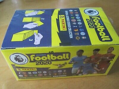 PANINI Stickers FOOTBALL 2020 Premier League FULL BOX 100 PACKETS New & Sealed