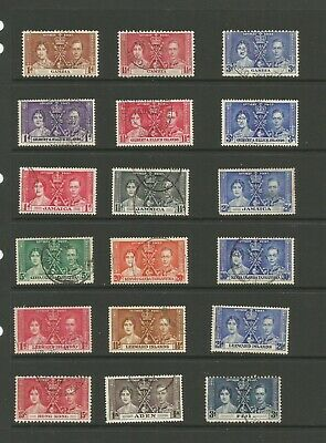 1937 Coronation, British Commonwealth