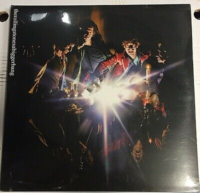 The Rolling Stones–A Bigger Bang-2 VINYL LP Ltd Ed First Print 094633006713-MINT