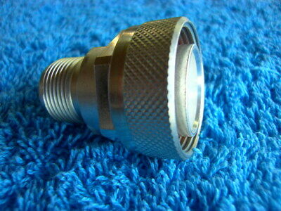 RADIALL Adapter 7/16 (m) to HN (f) 50 Ohm R191.907.000 10 GHz ! unbenutzt in OVP