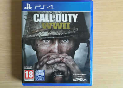 Excellent  Condition ( Call Of Duty Ww2 ) Brill  Ps4  Game