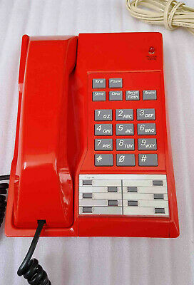 1980's Rare Red Touchfone 200