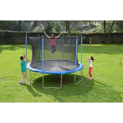 12FT Trampoline with internal safety net enclosure.New.