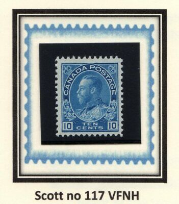 """Canada - Cat. Scott 117 - Vfnh - King George V """"Admiral Issue""""."""